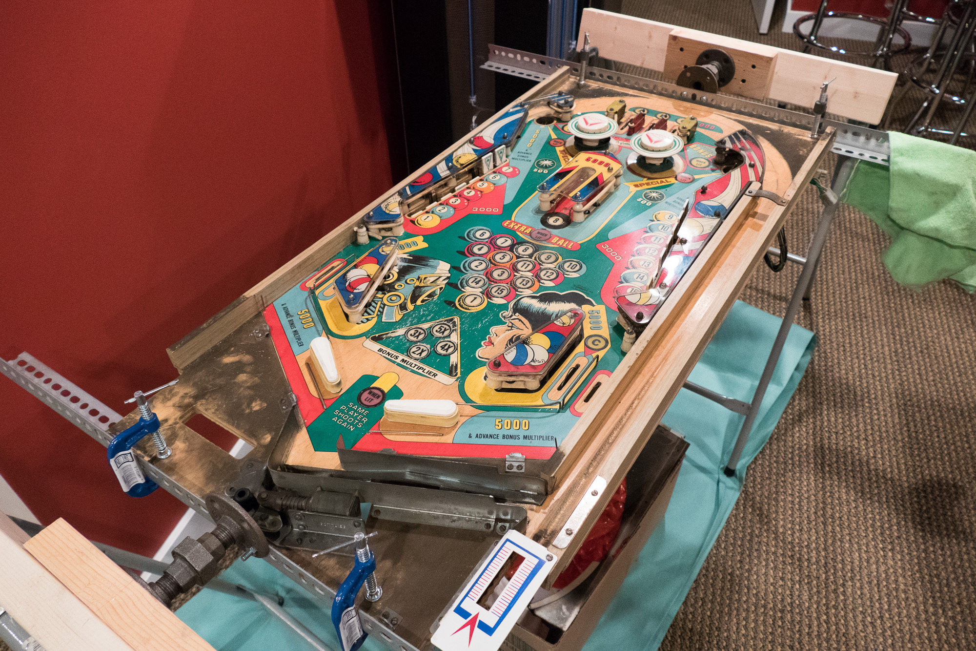 Pinball Coffee Table – SkunkWerx